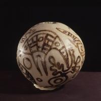Thancoupie, Emu 1986, ceramic sphere